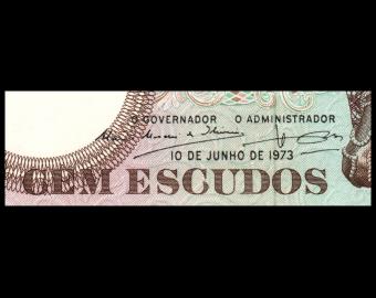 Angola, P-106, 100 escudos, 1973