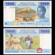 Gabon, P-407Ac7, 1000 francs, 2016