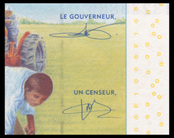 Gabon, P-407Ac, 1000 francs, 2016