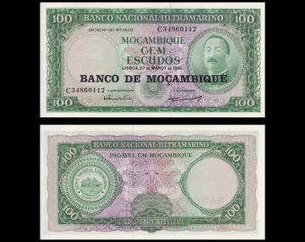 Mozambique, P-117, 100 escudos, 1976, SPL / A-UNC