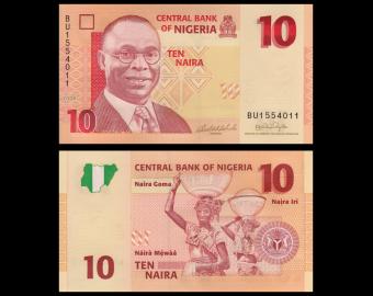 Nigeria, P-33a, 10 naira, 2006