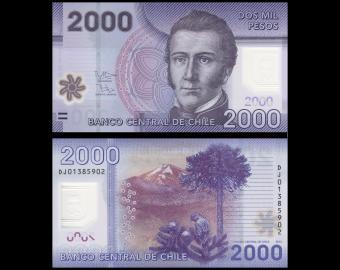 Chile 5 Pesos P-149 1975 UNC