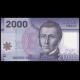 Chili, P-162c, 2000 pesos, 2013, Polymère
