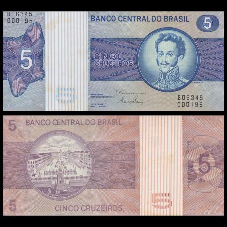 Brésil, P-192d, 5 cruzeiros, 1979, SPL / a-UNC