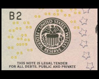 USA, P-539B, 5 dollars, 2013