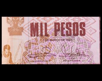 Guinée-Bissau, P-13b, 1000 pesos, 1993