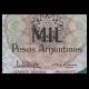 Argentine, P-317b, 1000 pesos argentinos, 1983