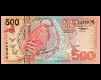 Surinam, P-150, 500 gulden, 2000