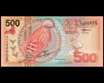 Suriname, P-150, 500 gulden, 2000