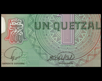 Guatemala, P-115a, 1 quetzal, polymer, 2008