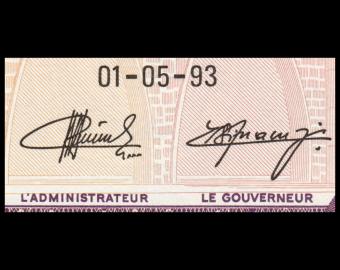 Burundi, P-29c, 100 francs, 1993