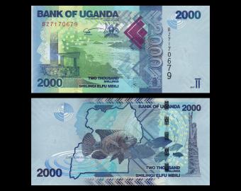 Uganda, P-50d, 2000 shilingi, 2017