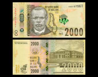 Malawi, P-69, 2000 kwacha, 2016