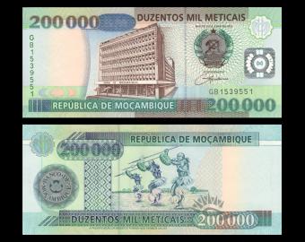 Mozambique, P-141, 200 000 meticais, 2003