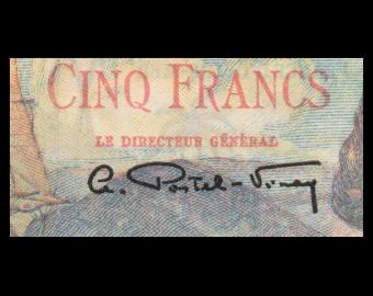 St-Pierre-et-Miquelon, P-22, 5 francs, 1950-60