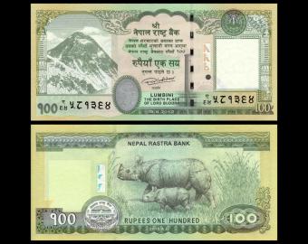 Nepal, p-80, 100 rupees, 2015