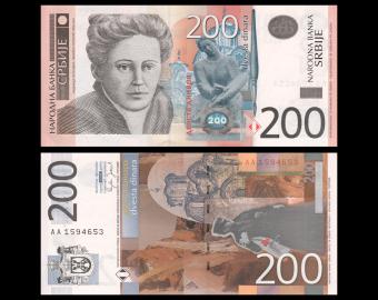 Serbia, P-42a, 200 dinara, 2005