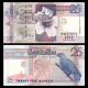 Seychelles, P-37b, 25 rupees, 2002