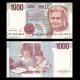 Italie, P-114c, 1000 lire, 1990, TB