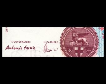 Italie, P-114c, 1000 lire, 1990