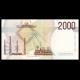 Italy, P-115, 2000 lire, 1990