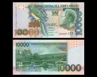 SÃO TOMÉ E PRÍNCIPE, P-66a, 10.000 dobras, 1996