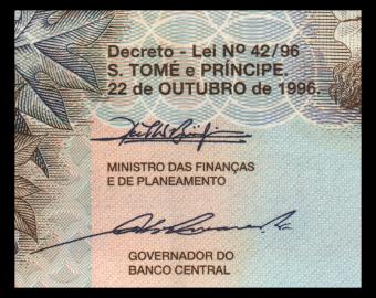 SÃO TOMÉ E PRÍNCIPE, P-68a, 50.000 dobras, 1996