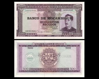 Mozambique, P-118, 500 escudos, 1976
