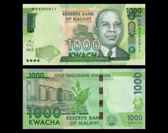 Malawi, P-67b, 1000 kwacha, 2016