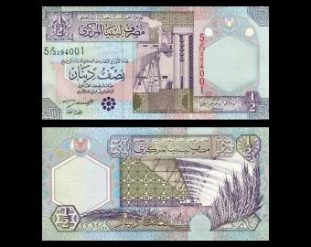 Libye, P-63, ½ dinar, 2002
