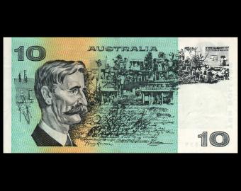 Australia, P-45c, 10 dollars, 1974-91, SUP / Extremely Fine