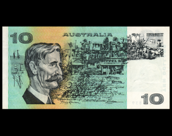 Australie, P-45c, 10 dollars, 1974-91, SUP / Extremely Fine