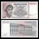 Yougoslavie, P-125, 500 000 000 dinara, 1993