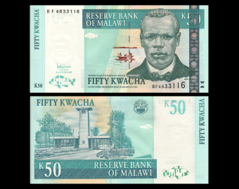 Malawi, P-53c, 50 kwacha, 2007