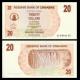 Zimbabwe, P-40, 20 dollars, 2006
