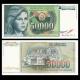 Yougoslavie, P-096, 50 000 dinara, 1988