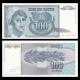 Yugoslavia, P-112, 100 dinara, 1992