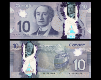 Canada, P-107c, 10 dollars, 2013, polymère