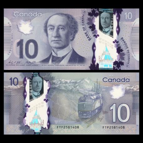 Canada, P-107c, 10 dollars, 2013