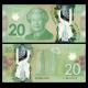 Canada, P-108b, 20 dollars, 2012, polymère
