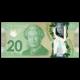 Canada, P-108b, 20 dollars, 2012, polymer