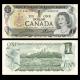 Canada, p-85c, 1 dollar, 1973