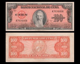 C, P-093, 100 pesos, 1959