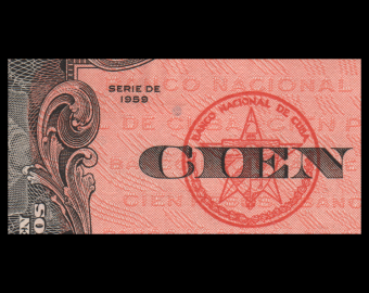 C, P-093, 100 pesos, 1959, SUP / ExtremelyFine