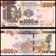 Guinée, P-48b, 1000 francs, 2017