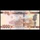 Guinea, P-48b, 1000 francs, 2017