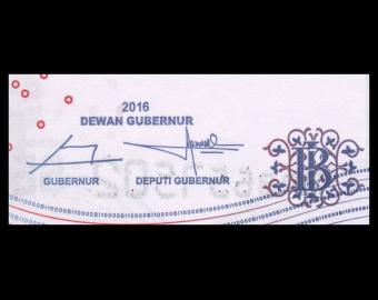 Indonesia, P-150h2, 10 000 rupiah, 2016