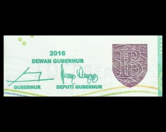 Indonesia, P-151f2, 20 000 rupiah, 2016