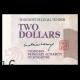 Singapour, P-45A, 2 dollars, 2005