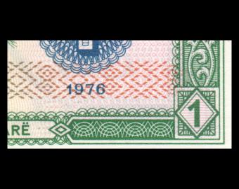 Albanie, P-40, 1 leke, 1976